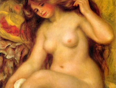 Pierre-Auguste Renoir - Bather  with Blonde Hair