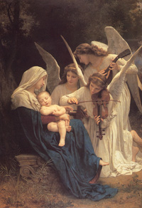 William Bouguereau - Song of the Angels